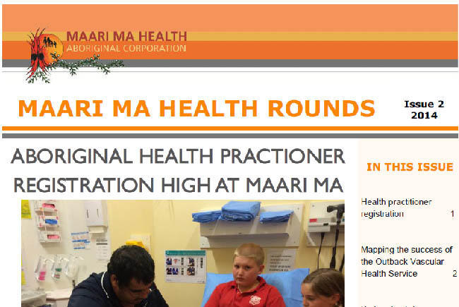 Maari Ma Health Rounds Issue 2 : 2014