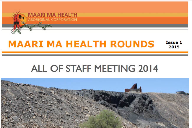 Maari Ma Health Rounds Issue 1 : 2015
