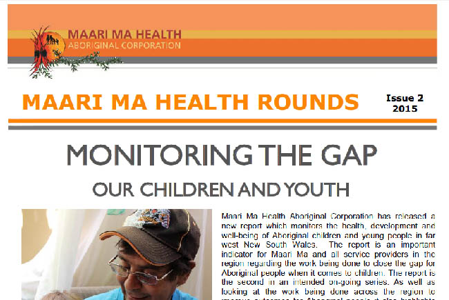 Maari Ma Health Rounds Issue 2 : 2015