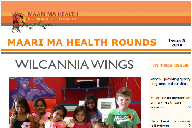 Maari Ma Health Rounds Issue 3 : 2014