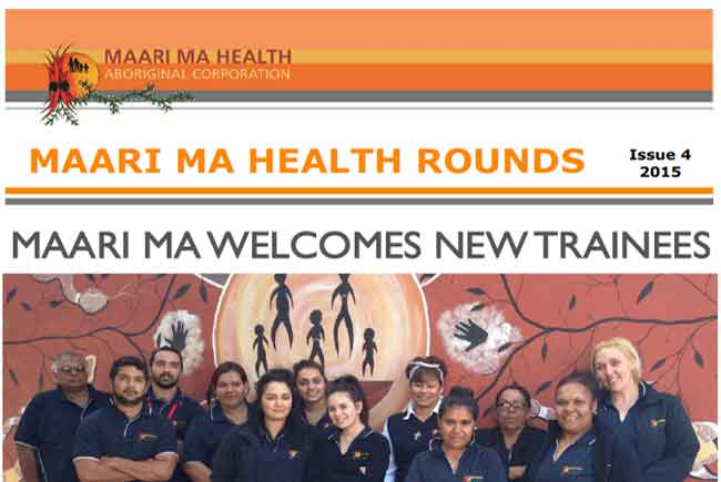 Maari Ma Health Rounds Issue 4 : 2015