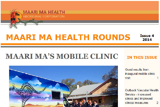 Maari Ma Health Rounds Issue 4 : 2014