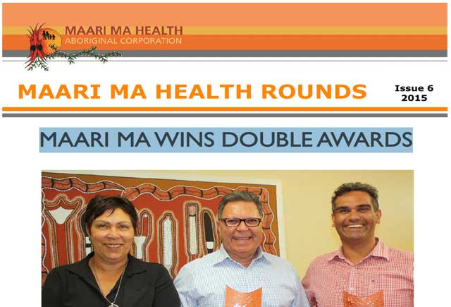 Maari Ma Health Rounds Issue 6 : 2015