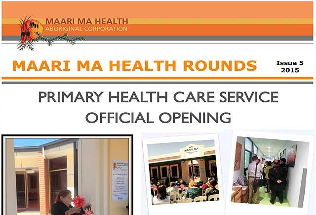 Maari Ma Health Rounds Issue 5 : 2015