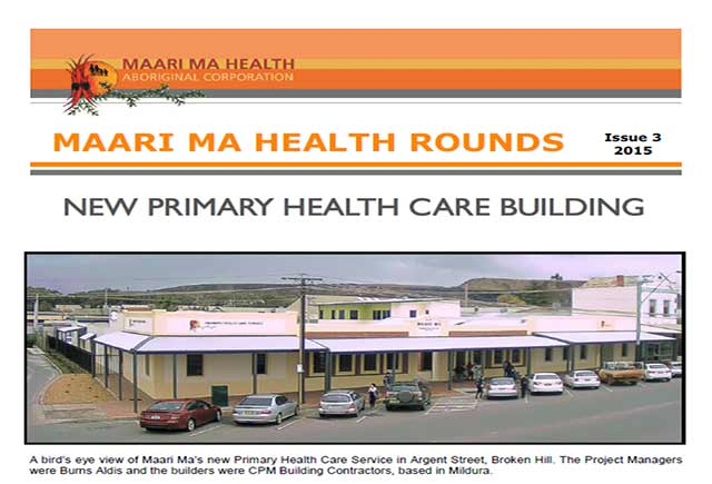 Maari Ma Health Rounds Issue 3 : 2015