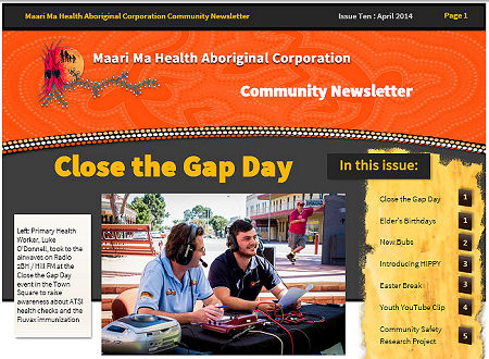 Maari Ma Health Community Newsletter Issue 10