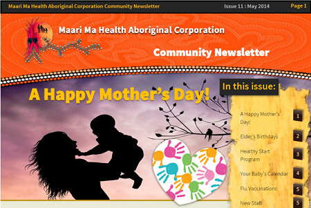 Maari Ma Health Community Newsletter Issue 11