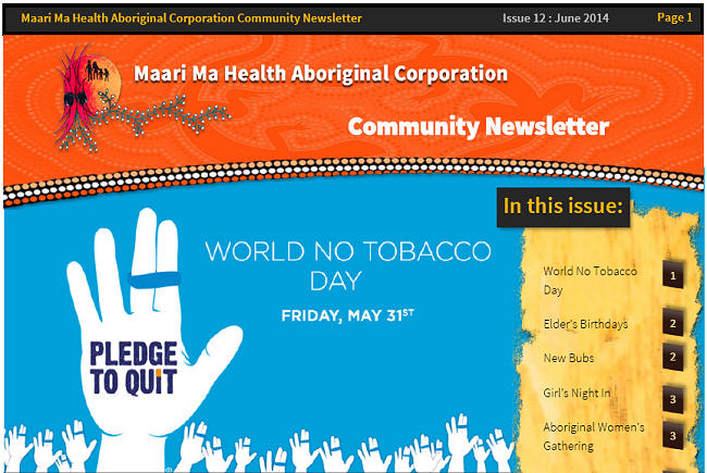 Maari Ma Health Community Newsletter Issue 12