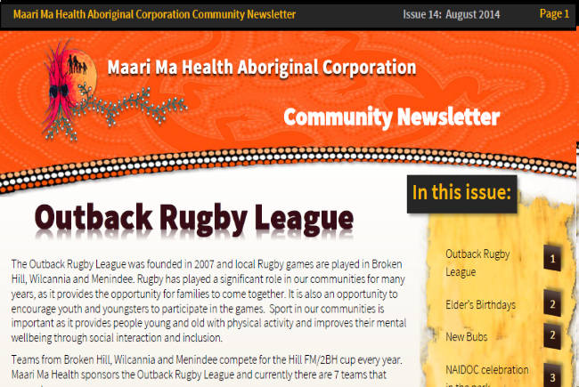 Maari Ma Health Community Newsletter Issue 14