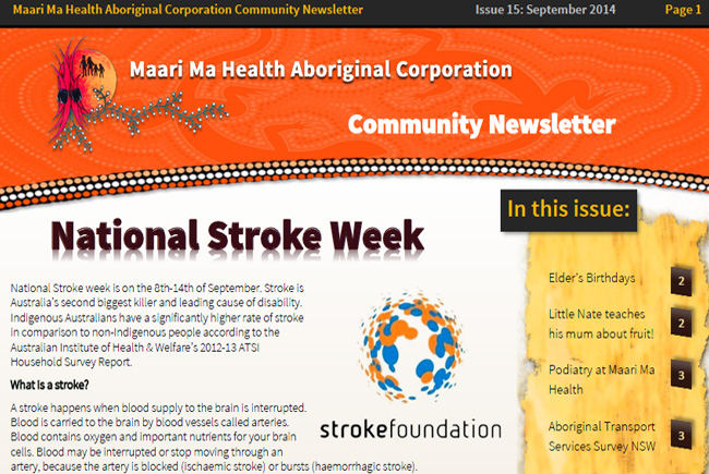 Maari Ma Health Community Newsletter Issue 15