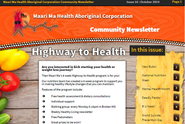 Maari Ma Health Community Newsletter Issue 16