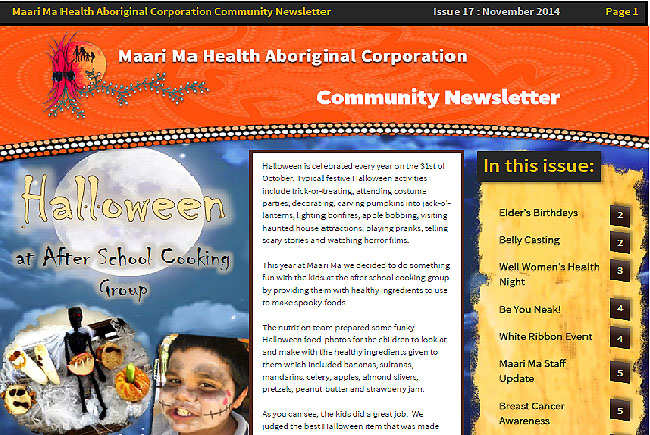 Maari Ma Health Community Newsletter Issue 17