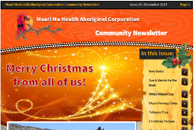 Maari Ma Health Community Newsletter Issue 18