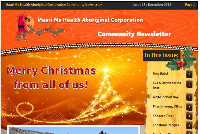 Maari Ma Health Community Newsletter Issue 18