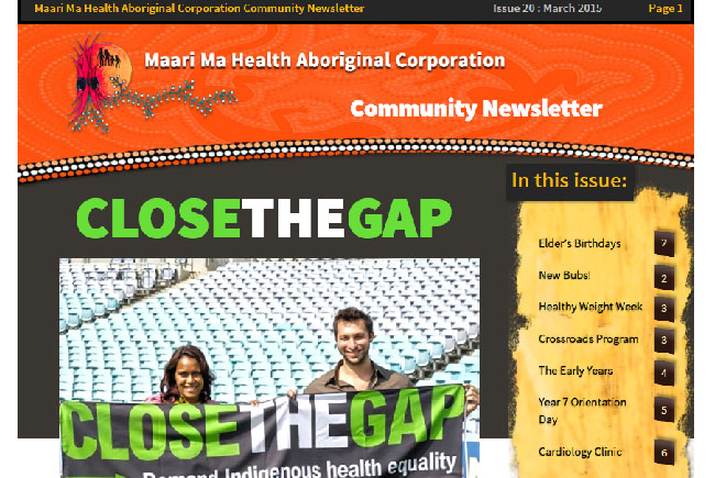 Maari Ma Health Community Newsletter Issue 20