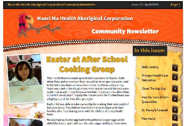 Maari Ma Health Community Newsletter Issue 21