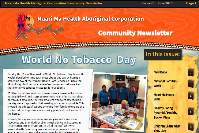 Maari Ma Health Community Newsletter Issue 23