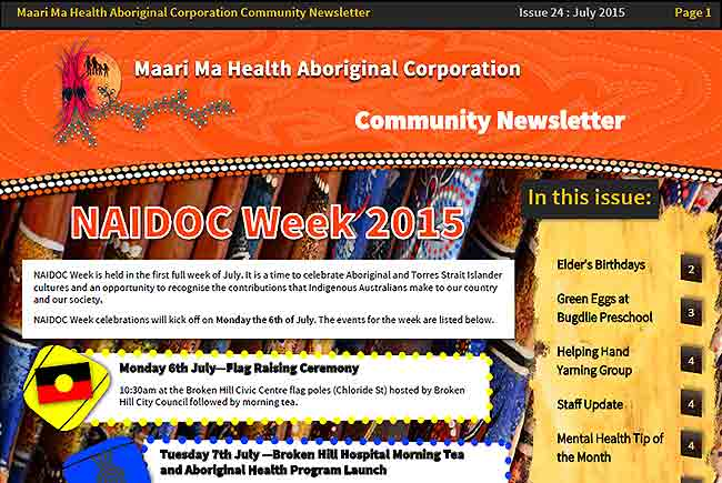 Maari Ma Health Community Newsletter Issue 24
