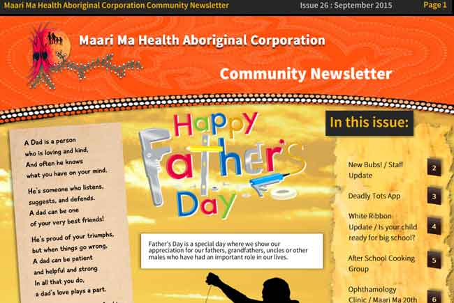 Maari Ma Health Community Newsletter Issue 26