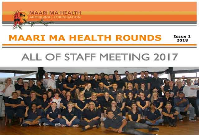 Maari Ma Health Rounds Issue 1 : 2018