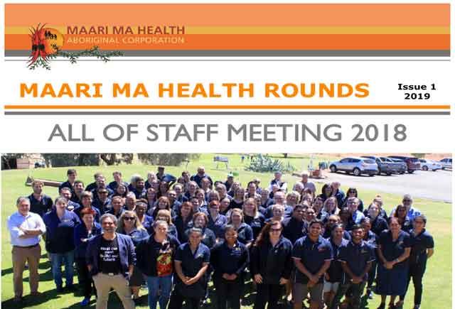 Maari Ma Health Rounds Issue 1 : 2019