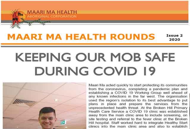 Maari Ma Health Rounds Issue 2 : 2020