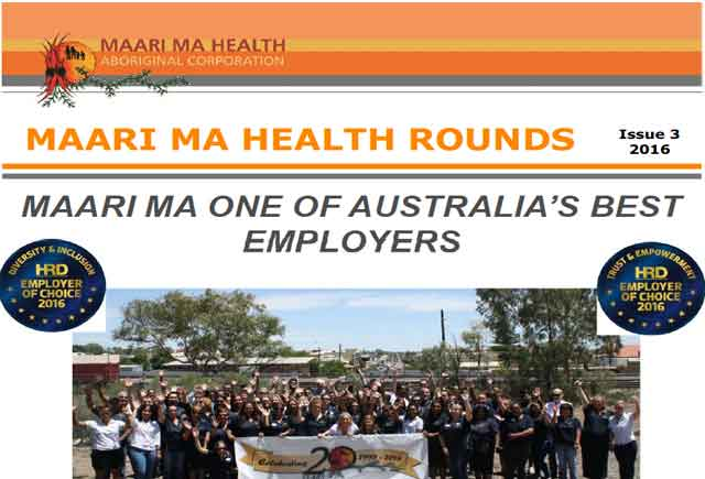 Maari Ma Health Rounds Issue 3 : 2016