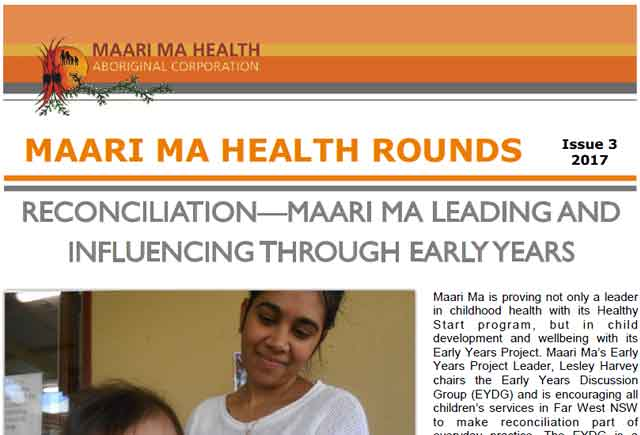 Maari Ma Health Rounds Issue 3 : 2017