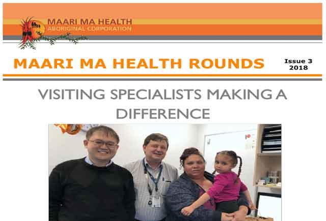 Maari Ma Health Rounds Issue 3 : 2018