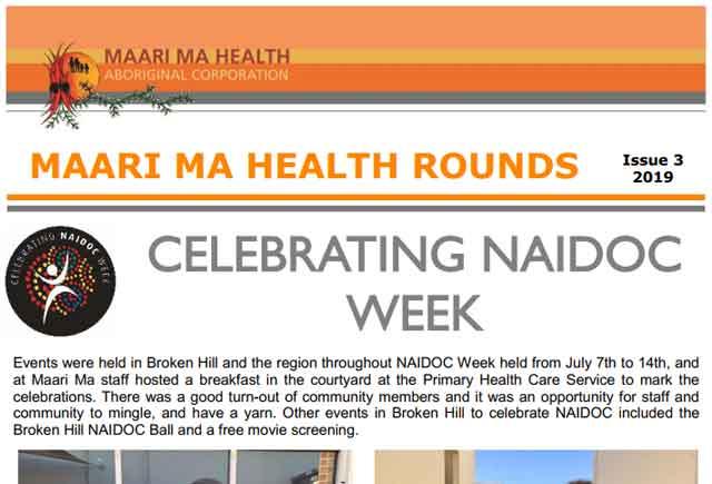 Maari Ma Health Rounds Issue 3 : 2019