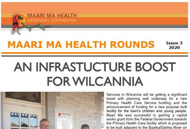 Maari Ma Health Rounds Issue 3 : 2020