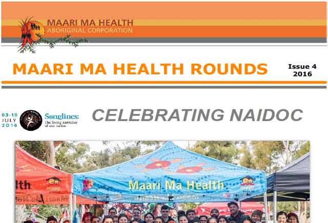 Maari Ma Health Rounds Issue 4 : 2016