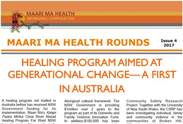 Maari Ma Health Rounds Issue 4 : 2017