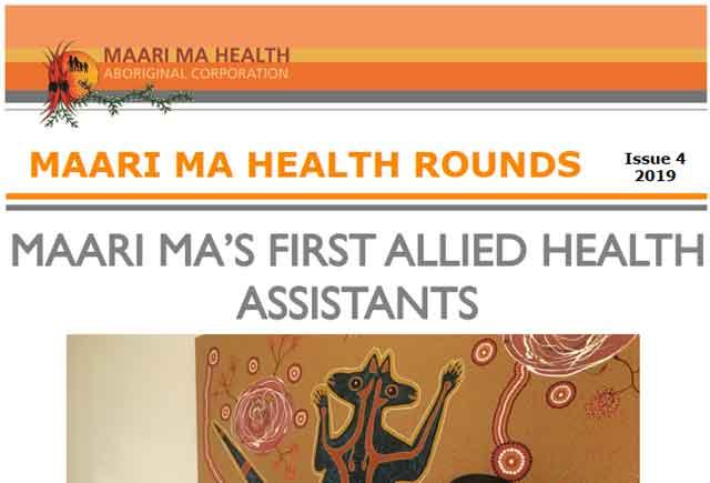 Maari Ma Health Rounds Issue 4 : 2019
