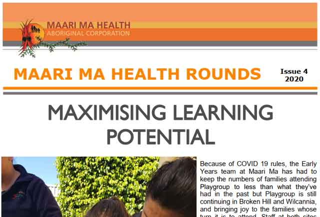 Maari Ma Health Rounds Issue 4 : 2020
