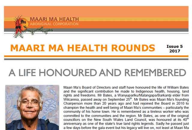 Maari Ma Health Rounds Issue 5 : 2017