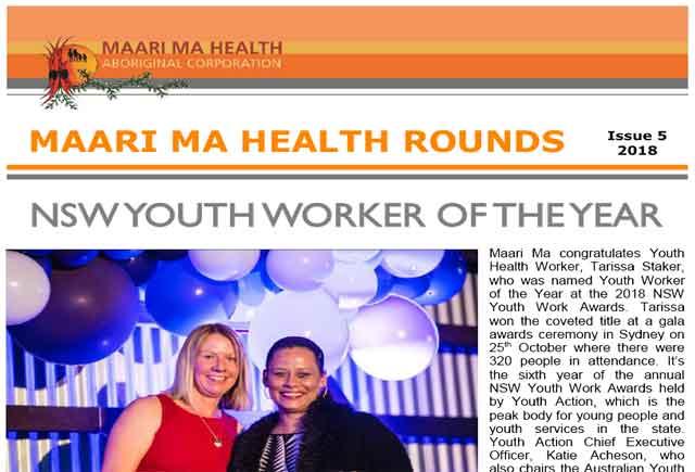 Maari Ma Health Rounds Issue 5 : 2018