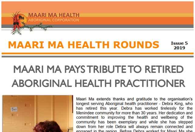 Maari Ma Health Rounds Issue 5 : 2019