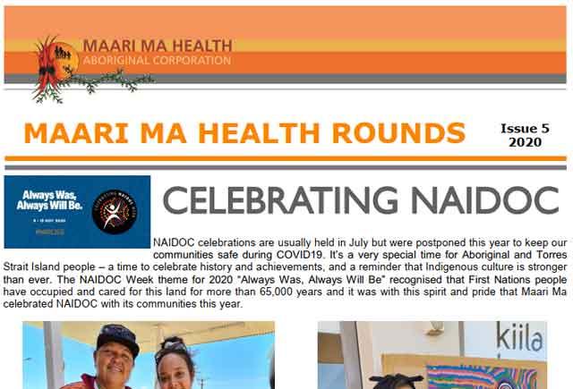 Maari Ma Health Rounds Issue 5 : 2020