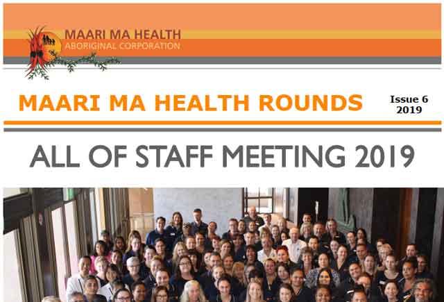 Maari Ma Health Rounds Issue 6 : 2019