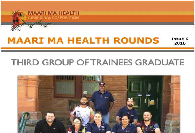 Maari Ma Health Rounds Issue 6 : 2016