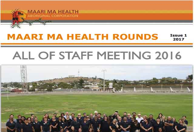 Maari Ma Health Rounds Issue 1 : 2017