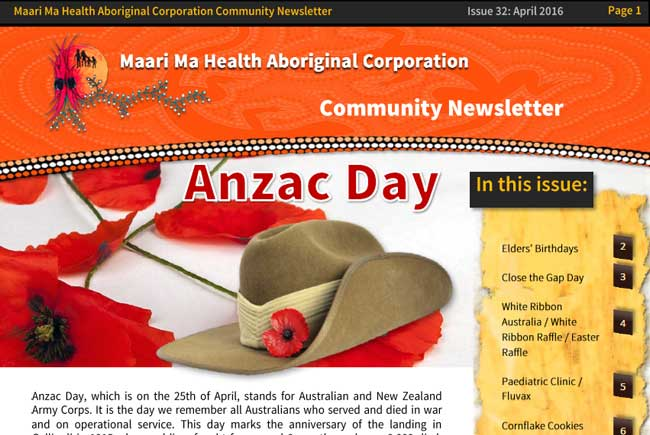 Maari Ma Health Community Newsletter Issue 32