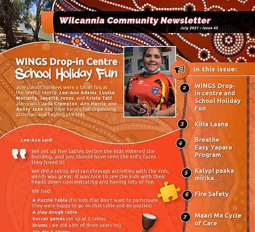 Wilcannia Community Newsletter