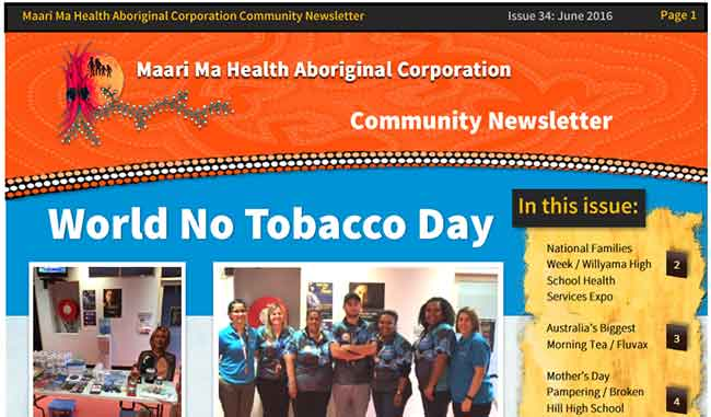 Maari Ma Health Community Newsletter Issue 34