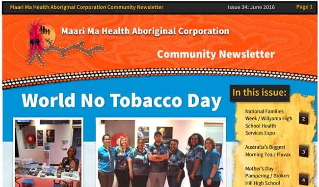 Maari Ma Health Community Newsletter Issue 34