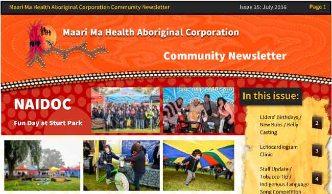 Maari Ma Health Community Newsletter Issue 35