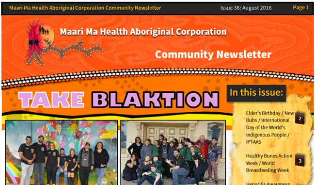 Maari Ma Health Community Newsletter Issue 36
