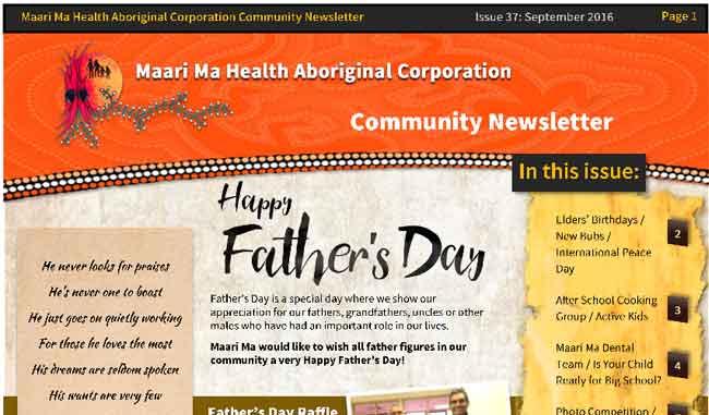 Maari Ma Health Community Newsletter Issue 37