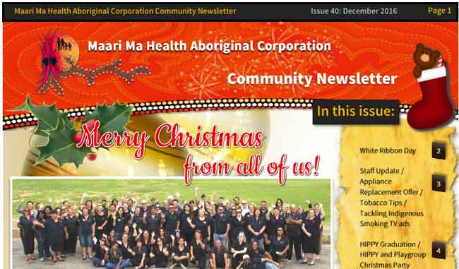 Maari Ma Health Community Newsletter Issue 40